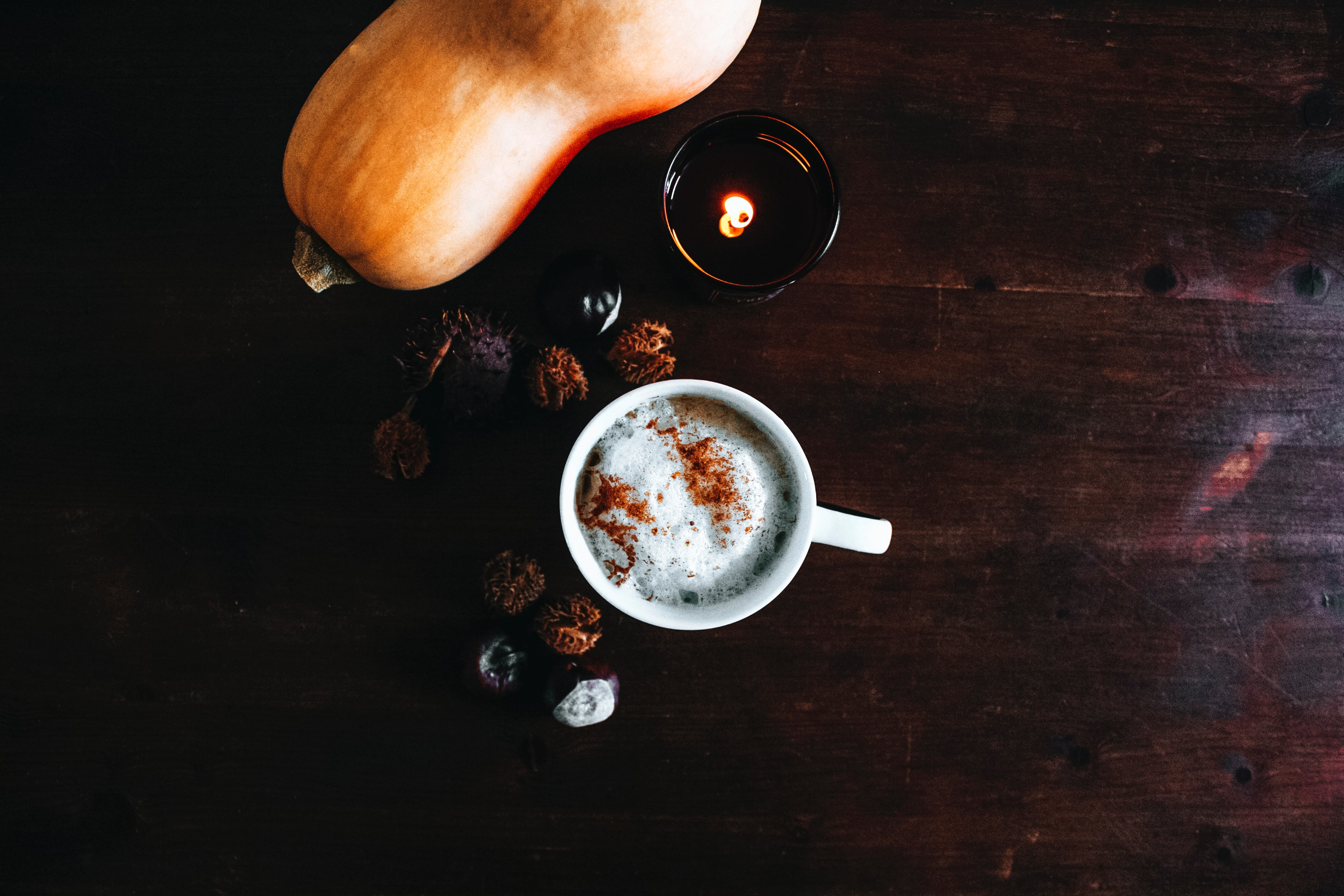 The Key to a Happier, Healthier FALL! All-Natural Pumpkin Spice Latte!